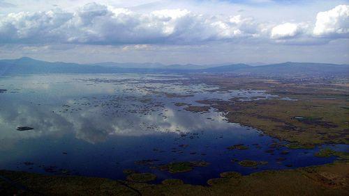 Jezero Cuitzeo jako němý svědek návštěvy kosmického vetřelce?