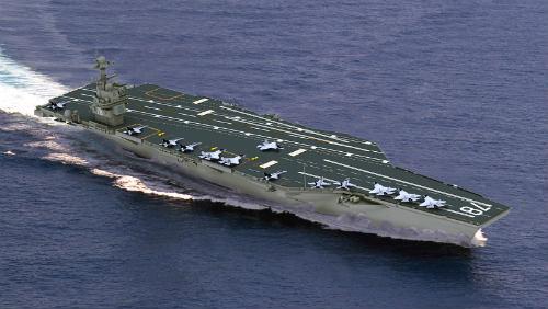 USA zbrojí: nová letadlová loď a hypersonický špion