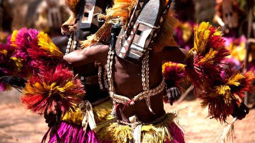 Dogoni - africký domorodý kmen