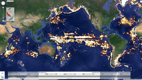 Pomozte odhalovat nezákonný rybolov díky technologii Global Fishing Watch