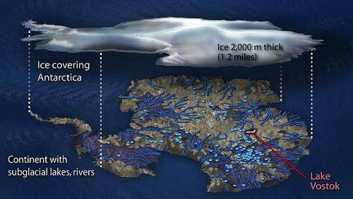 Antarktické jezero Vostok bylo dobyto