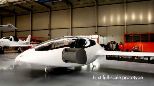 Futuristické, elektrické a vertikálně startující letadlo opravdu létá!