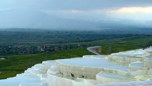 Pamukkale – výlet na bavlněné hrady