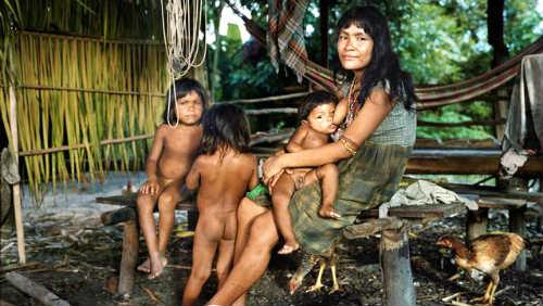 Šťastní lidé – indiáni z Amazonie