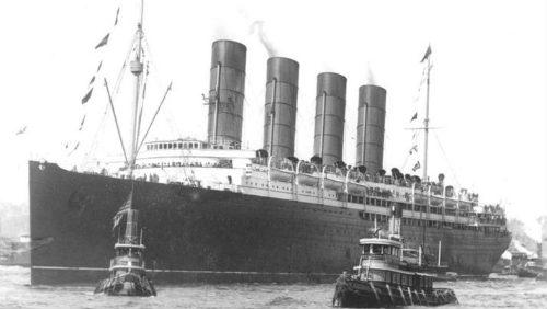 Tragický příběh lodi RMS Lusitania