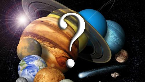 Deset největších záhad naší sluneční soustavy