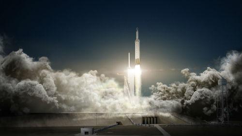 Přelomový start obří rakety Falcon Heavy snad proběhne v listopadu