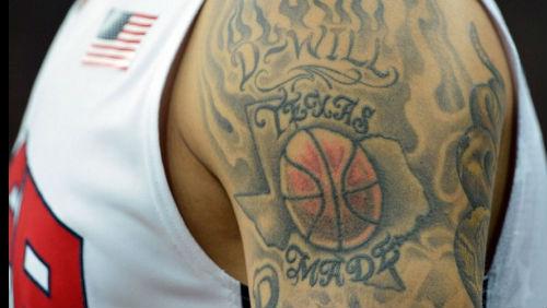 Galerie tetování OH 2012