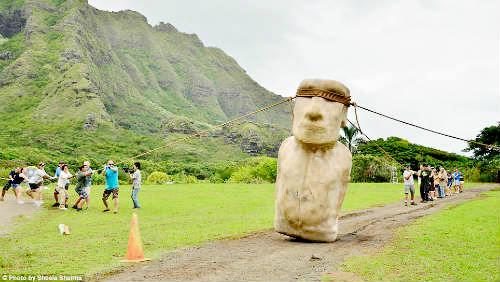 Zmatky kolem soch na Velikonočních ostrovech